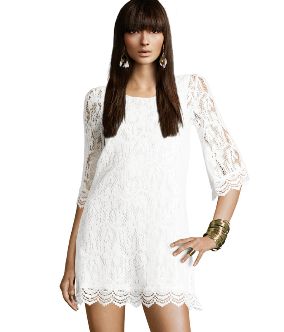 d75fc2ec45 Several Reasons You Must Have a White Lace Dress