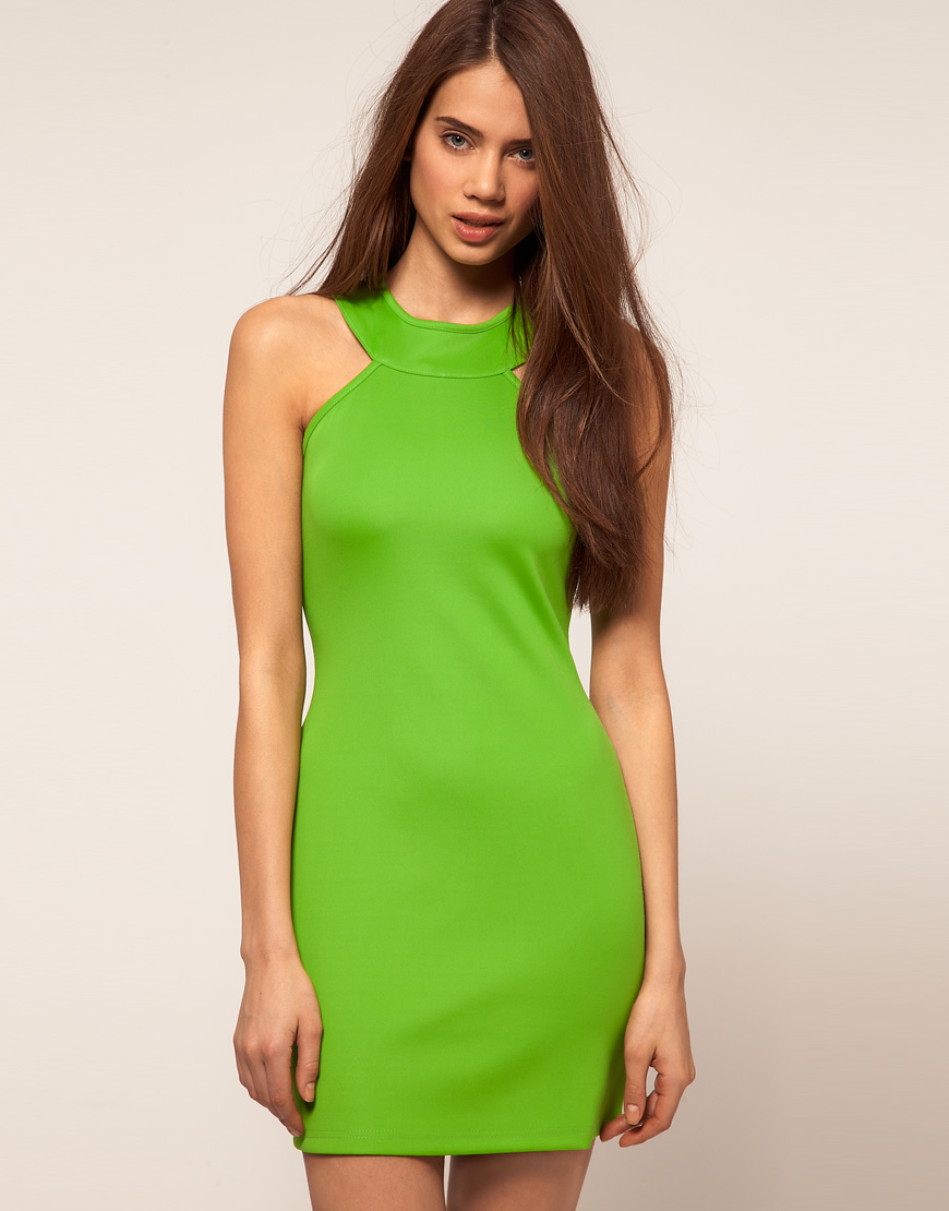 neon dress | Your Style Journey