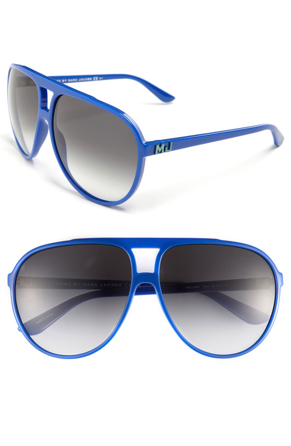 ray ban aviator blue frame | Money in the Banana Stand