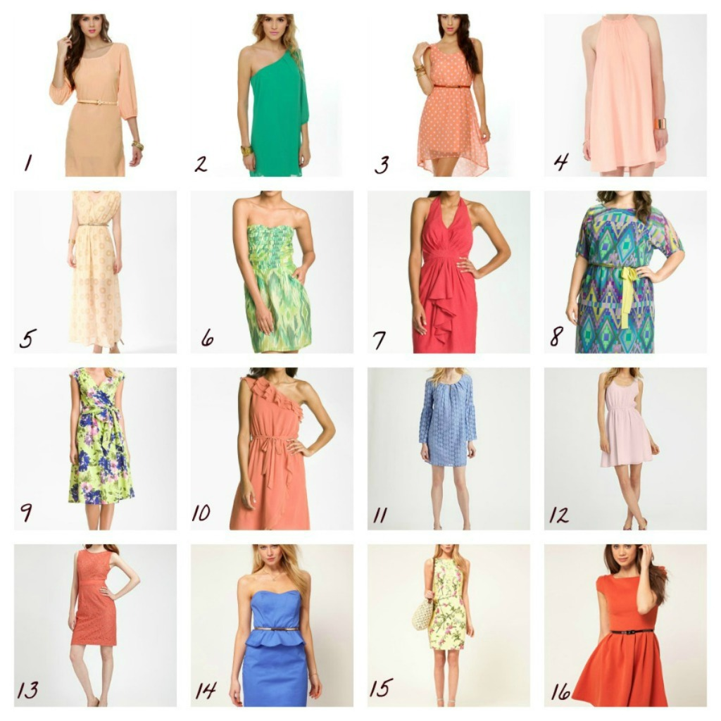 What to Wear to a Summer Wedding (Dresses fit for the occasion)