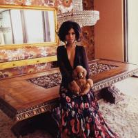 Kerry Washington Gets Glam for Vogue