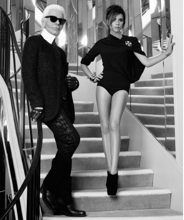 Victoria Beckham Stars In Photoshoot At Coco Chanel's Home ...