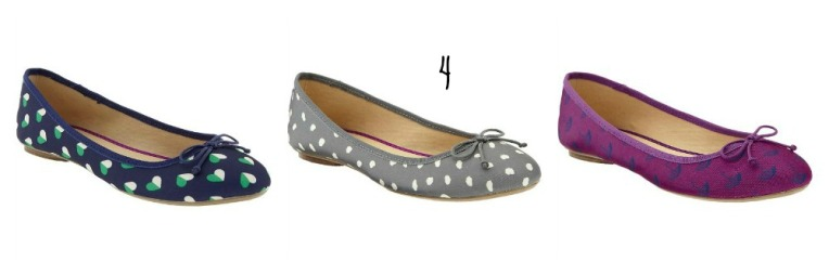 Printed canvas flats