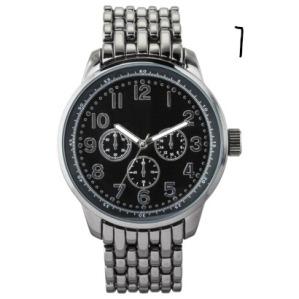 gunmetal watch