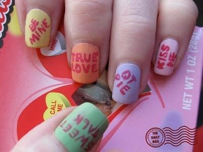 Valentine nails3