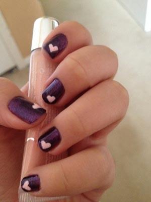 valentines nails 9