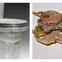 Blinged out Toilet!
