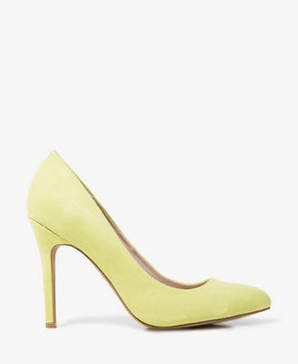 Pastel Yellow Heels - Qu Heel