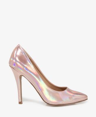 Pink Metallic Heels | Tsaa Heel