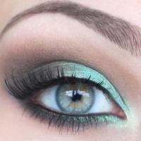Pretty Spring Eye Makeup