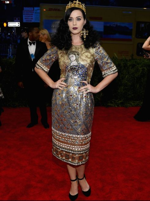 Katy Perry in Dolce & Gabbana