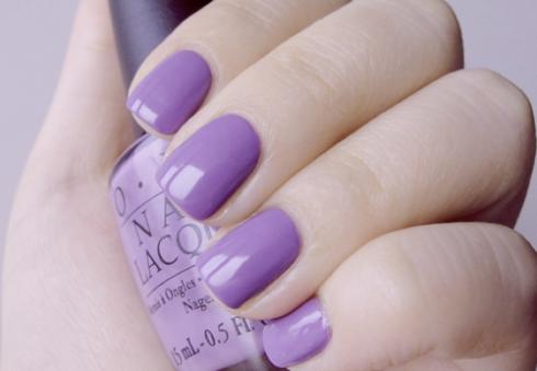 Lilac nails1
