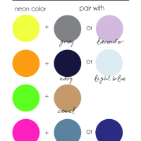What Colors Go With Neon? This Chart Can Help!