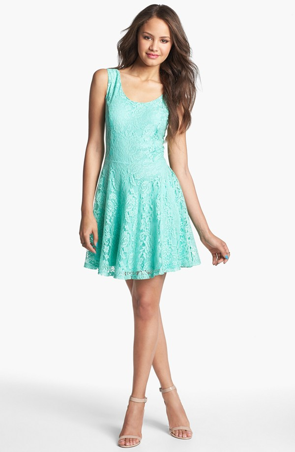 fit & flare mint