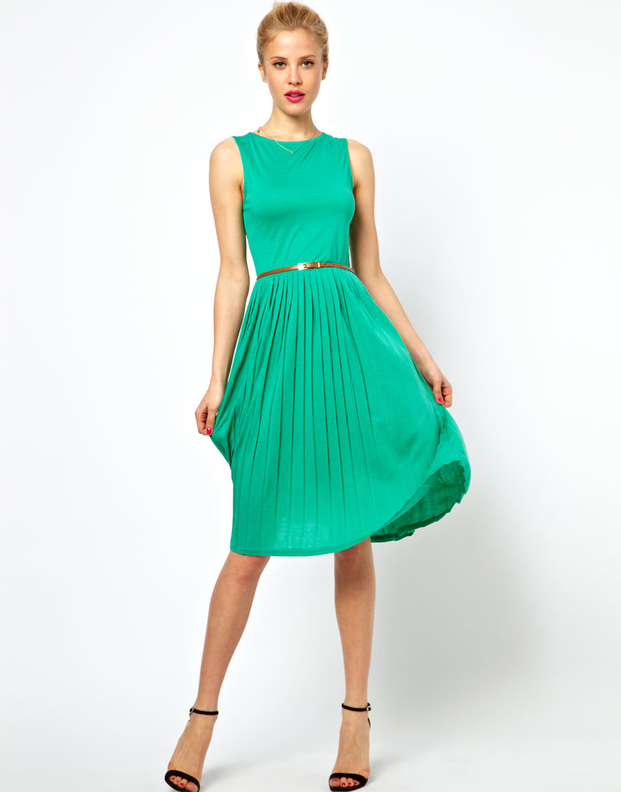 Green Blue Dresses - Cocktail Dresses 2016