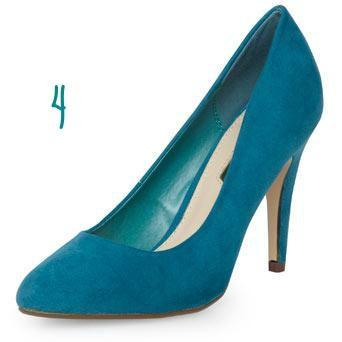 DP teal heels