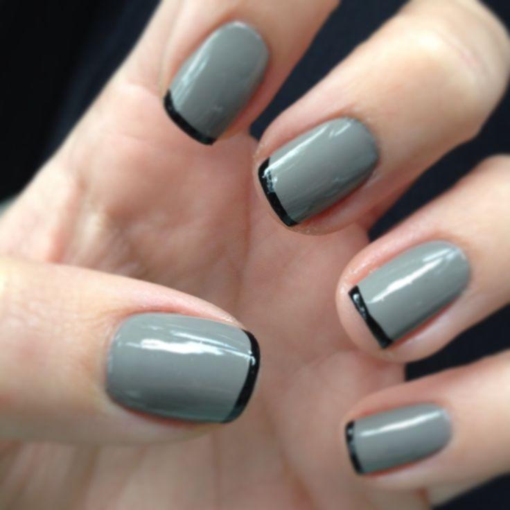 Grey Nail Art: Pinspiration: Shades Of Grey!