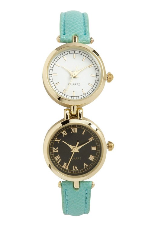 dual dial watch