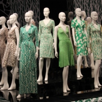 Diane von Furstenberg 'Journey Of A Dress' Exhibit!