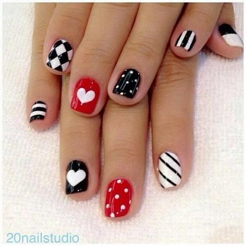How To Make A Heart On Nails