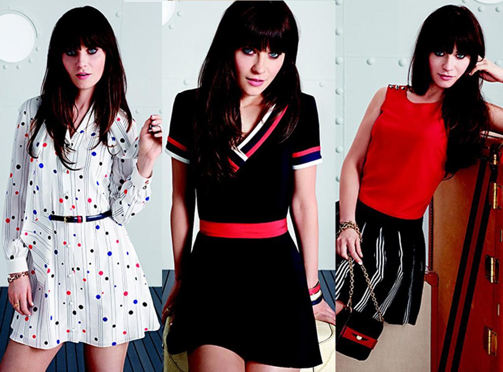 Zooey Deschanel Fashion Zooey Deschanel's Dr...