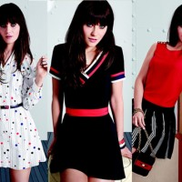 Zooey Deschanel's Dress Line!