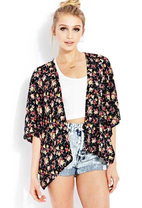 flower kimono 421