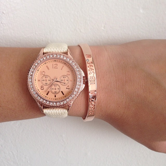 rose gold watch Your Style Journey