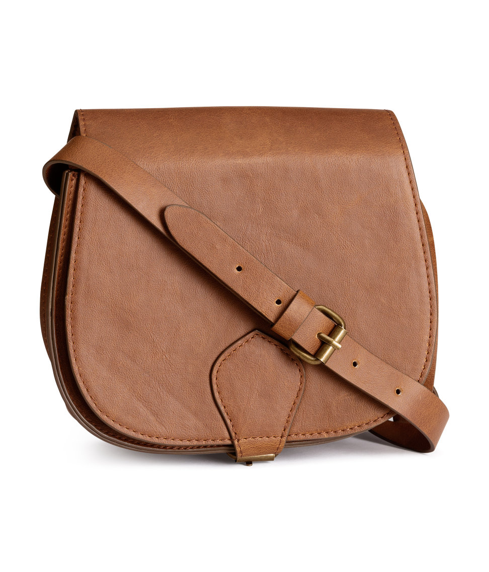 brown | Your Style Journey Saddle Bag