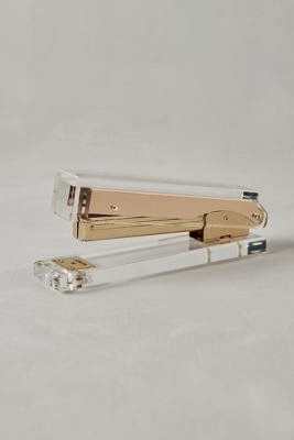 rose gold stapler