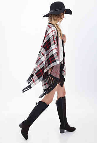 plaid fringe